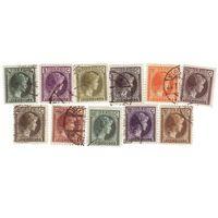 Герциогиня Шарлотта Стандарт 1926-35 г.  11 марок