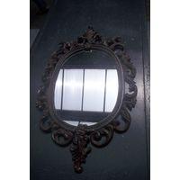 Зеркало в силуминовой раме
