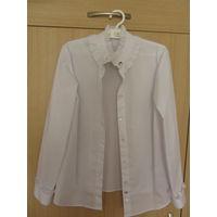 Новая школьная блузка для девочки, рост 140