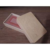 Пластиковый кейс, футляр для колоды карт