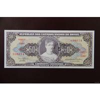 Бразилия 5 центаво на 50 крузейро 1967 UNC