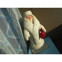 Дед Мороз из СССР. Вата. 45см. С рубля!