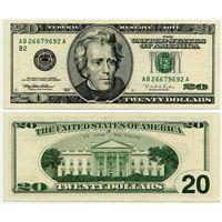 США. 20 долларов (образца 1996 года, P501)