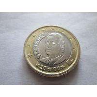 1 евро, Испания 2000 г., AU