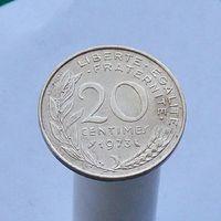 Франция 20 сантимов 1973