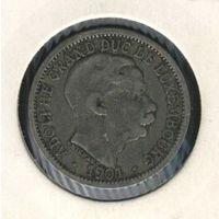 Люксембург 20 сантимов 1901 г.