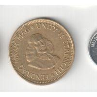 1/2 цента 1964 года ЮАР 20-22