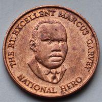 Ямайка, 25 центов 1996 г