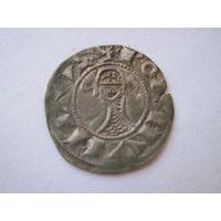 Редкость Антиохия (Сирия) крестовой денар Bohemund III 1163-1201 годы