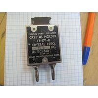 Кварцевый резонатор для радиостанций армии США Cristal Holder FT-171-В