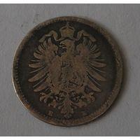 Германия, 20 Пфеннигов 1876 E Серебро (2)