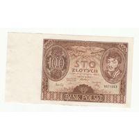 Польша 100 злотых 1934 года. Состояние aUNC!