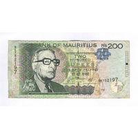 Маврикий, 200 рупий образца 2010 г.