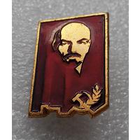 Значок. В.И. Ленин #0227