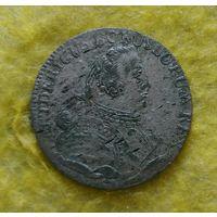 6 грошей 1757 г Нечастая Отличная