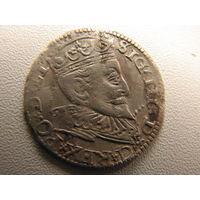3 гроша 1594 монетный двор Рига