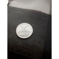 BLOCK ISLAND 25 центов 2018 год