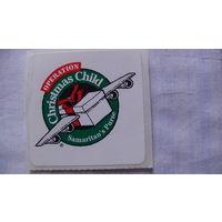 Наклейка Christmas Child. распродажа