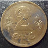 Дания 2 оре 1920 года