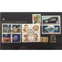 Набор марок (космос) с 1 руб