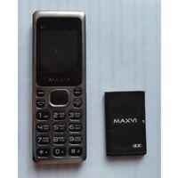 Нерабочий MAXVI M11 мобильный телефон кнопочный 2 sim сим