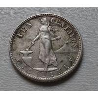 Филиппины 10 сентаво 1945 г.