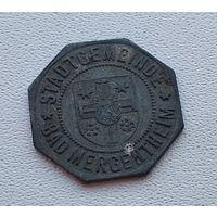 Германия,нотгельд Bad Mergenthen 10 пфеннигов 1920 4-6-1