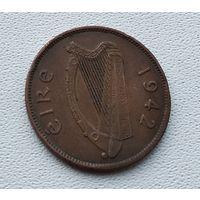 Ирландия 1/2 пенни, 1942  4-12-24