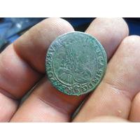 6 Грошей ( Шестак ) 1667 г. TLB Johann Casimir Речь посполита для Швеции (2)