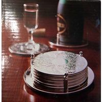 Набор подставок под бокалы и бутылку (костеры), горячие напитки. Англия