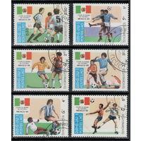 Лаос 1984. Футбол.
