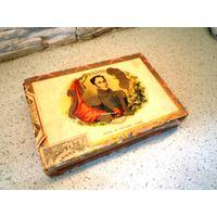 Коробка деревянная от сигар Куба