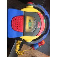 Игрушка электро механическая. Магнитофон детский