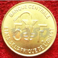 7783:  5 франков 2008 Западная Африка