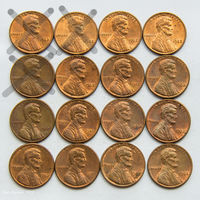 1 цент США 1982. Поштучно