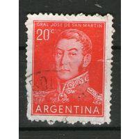 Аргентина. Гашеная. Лот-9