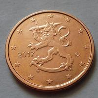 5 евроцентов, Финляндия 2017 г., UNC