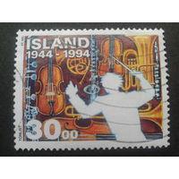 Исландия 1994 музыкальные инструменты