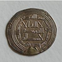 Дирхем династия Омеядов ранний 7-8 век