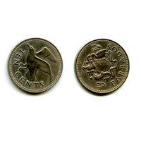 Барбадос 10 центов 1984 состояние фауна птица