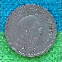 Индия юбилейная 1 рупия 1989 года. RR Инвестируй в монеты планеты!