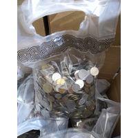 Английские МЕШКИ с МОНЕТАМИ МИРА на ВЕС ОПТОМ (монеты на вес) по 10 кг. МЕШКИ МОНЕТ из Европы.