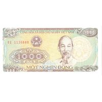 YS: Вьетнам, 1000 донг 1988, P# 106a, UNC