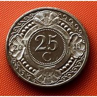 107-27 Антильские острова, 25 центов 2010 г.