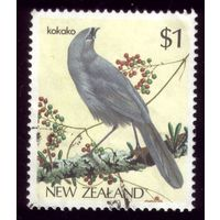 1 марка 1985 год Новая Зеландия Птичка 931