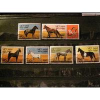 Вьтнам 1989 Фауна Породы лошадей