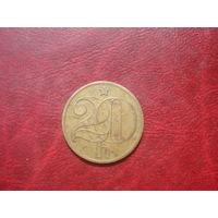 20 геллеров 1982 год Чехословакия
