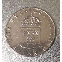Швеция, 1 крона, 1982 год, медь-никель