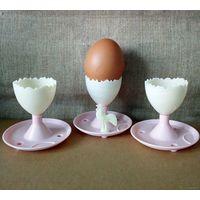 Подставки для яиц СССР Рига колкий пластик