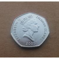 Соломоновы острова, 1 доллар 2005 г.